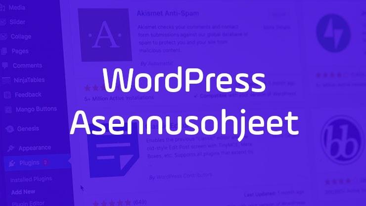 Wordpress asennus